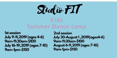 Studio FIT - Kids Summer Dance Camp