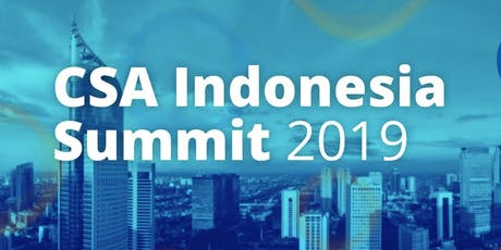 CSA Indonesia Summit 2019 tickets