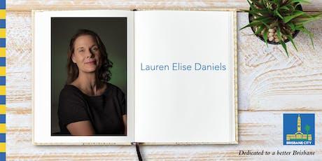 Meet Lauren Elise Daniels - Corinda Library tickets
