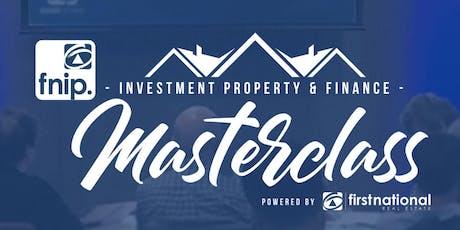 INVESTMENT PROPERTY MASTERCLASS (Perth, WA, 06/08/2019) tickets