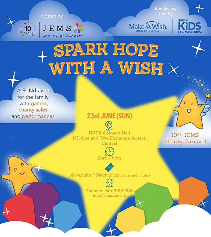10th JEMS Charity Carnival: Spark Hope with a Wish image