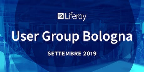 Liferay User Group Bologna biglietti