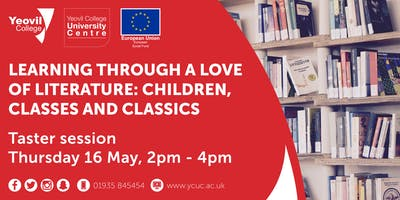 Children, Classes and Classics: Taster Workshop (May Afternoon)