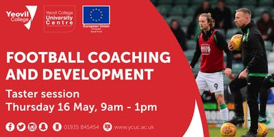 Football Coaching and Development, Degree-Level Qualification: Taster Session (May)