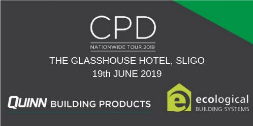 [Sligo] Double CPD Seminar: nZEB and Airtightness