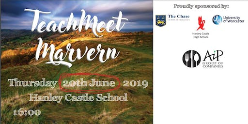 Teachmeet Malvern 2019