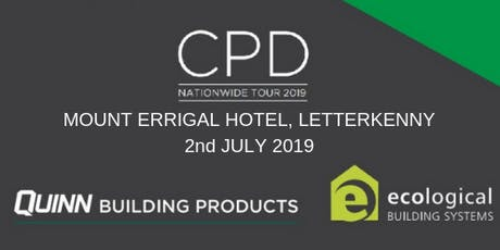 [Letterkenny] Double CPD Seminar: nZEB and Airtightness tickets