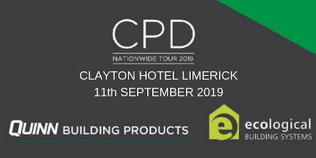 [Limerick] Double CPD Seminar: nZEB and Airtightness tickets