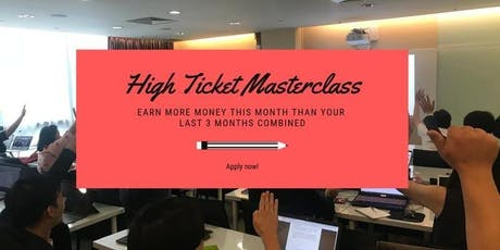 FREE: How To Sell High Ticket Products Using Facebook Ads, Make It Viral & Fire Your Boss? tickets