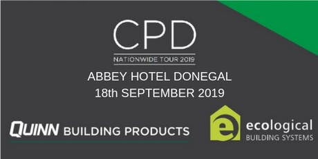 [Donegal] Town CPD Seminar: nZEB and Airtightness tickets