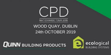 [Wood Quay, Dublin] CPD Seminar: nZEB and Airtightness tickets