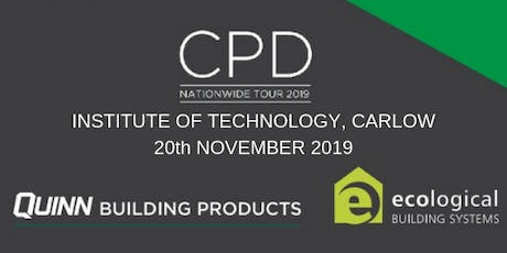 [Carlow] CPD Seminar: nZEB and Airtightness tickets