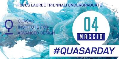 #Quasarday 04 maggio - Focus Lauree Triennali Undergraduate