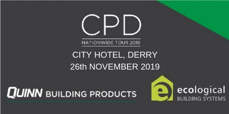 [Derry] City CPD Seminar: nZEB and Airtightness tickets