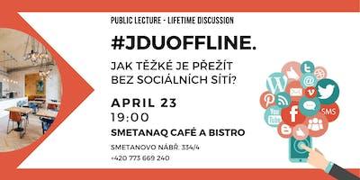 JDU offline - Jak těžké je přežít bez sociálních sítí
