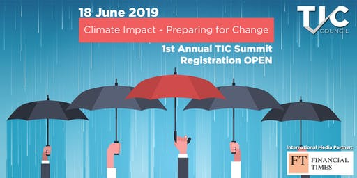 Climate Impact - Preparing for Change - TIC Council Conference and GA