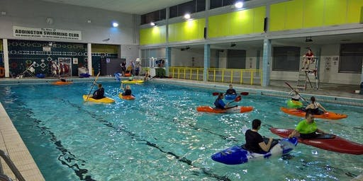 CAP Kayaking Indoor Pool Session Croydon - All abilities