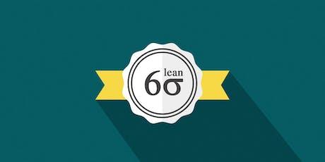 Lean Six Sigma Green & Black Belt Training & Certification Combo in Jeddah tickets