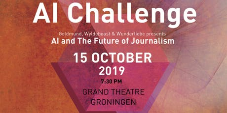 "AI Challenge ""AI and the Future of Journalism"" tickets"