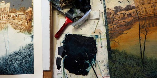 Get Stuck In Again: 1 Day Collagraph Printing Workshop for Improvers