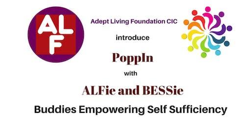 PoppIn & IPSG with ALFie and BESSie - Luton