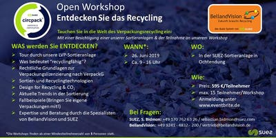 Belland Vision & SUEZ.circpack® - Open Workshop Recycling