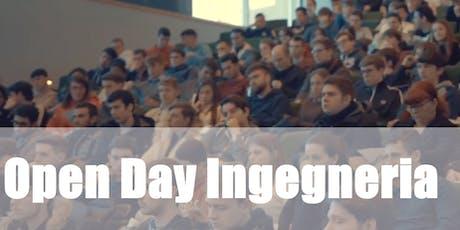 Open Day Ingegneria 2019 biglietti
