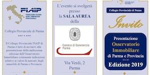 PARMA | 07/05/2019 | Presentazione Osservatorio...