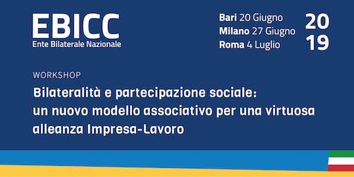 Bilateralità e partecipazione sociale - MILANO