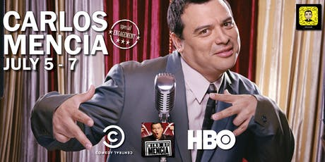 Stand up Comedian Carlos Mencia Live in Naples, Florida tickets