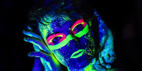 Doodle Bar Host Neon Naked Life Drawing Class! tickets