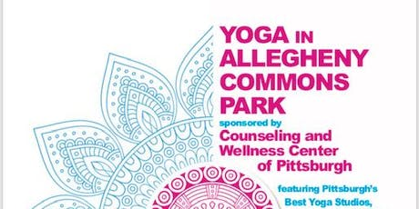 Yoga in Allegheny Commons Park tickets