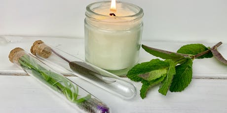 Botanical candle workshop tickets