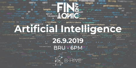 BXL - FIN AND TONIC: AI tickets