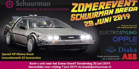 Schuurman Breda Zomer Event 2019 tickets