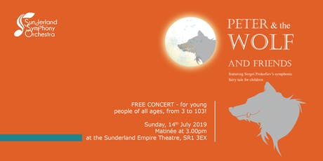 Peter and the Wolf and Friends tickets