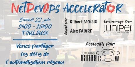 NetDevOps Accelerator tickets