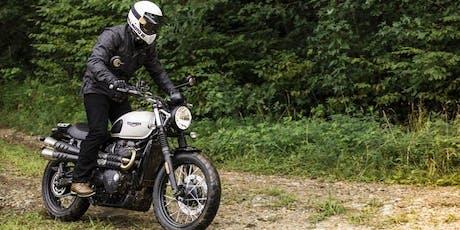 Triumph Street Scrambler Test Ride tickets