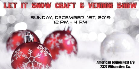 Let It Snow Craft & Vendor Show  tickets