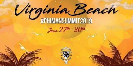 "PHIMAN SUMMIT 2019 ""Brotherhood above all"", Co-Sponsor by: PSPEF tickets"