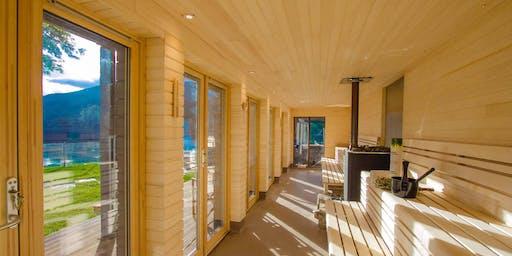 SFS saunoo – Loch Tay sauna