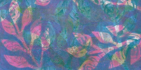 Gelli Printing Inspired by Nature With Janina Maher WEDNESDAY 26TH June tickets