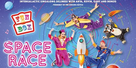 FUNBOX present SPACE RACE in Tillicoutry! tickets