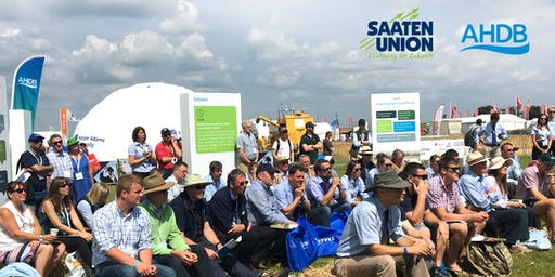Saaten Union and AHDB Open Day featuring Arable Connections