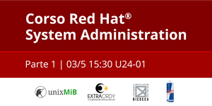 Corso Red Hat® System Administration: Parte 1
