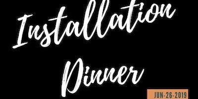 Rotary Club of Viera:  2019-2020 Board Installation Dinner