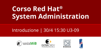 Corso Red Hat® System Administration: Introduzione