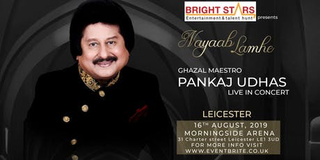 Pankaj Udhas Live in Concert tickets