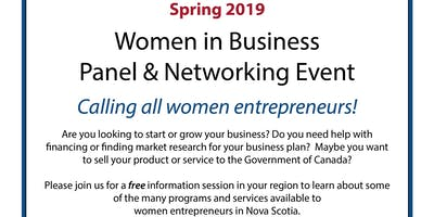 Women in Business: Panel & Networking Event