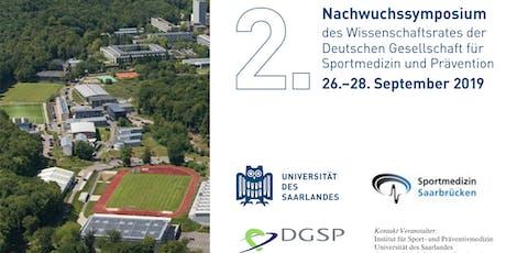 """2. DGSP-Nachwuchssymposium: """"Internationalisierung in der Sportmedizin"""" Tickets"""